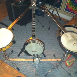 The Banjo Drum Set